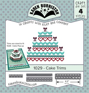 Cake trims, dies, Karen Burniston.