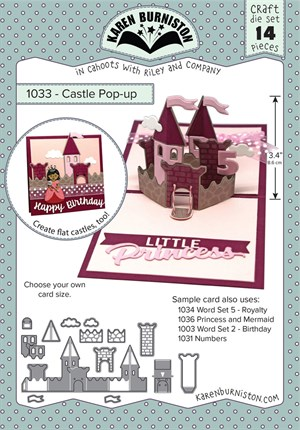 Castle, pop-up, dies, Karen Burniston.