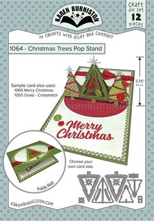Christmas trees pop stand, dies, Karen Burniston.