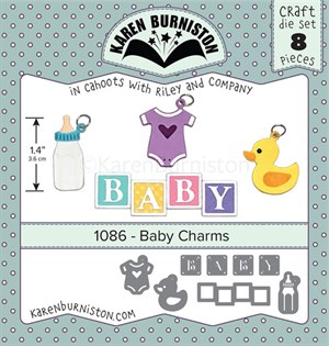 Baby charms, dies, Karen Burniston.