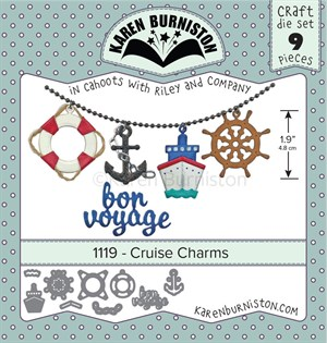 Cruise charms, dies, Karen Burniston.