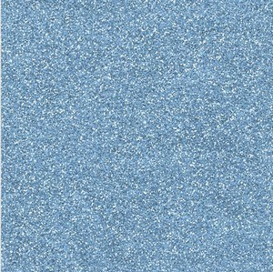 Bright blue, glitterkarton, A4, 230gr., essentials.