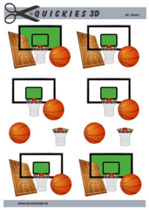Basketbold 3d ark - Quickies