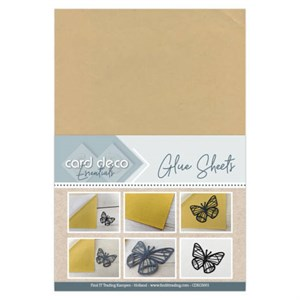 Microdots permanent glue sheets, A4, 3 ark.