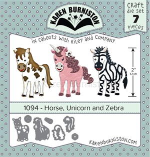 Horse, unicorn, zebra, dies, Karen Burniston.