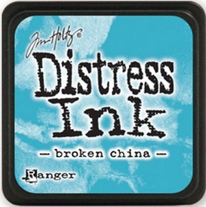 Broken china, Distress, mini pad, Tim Holtz.