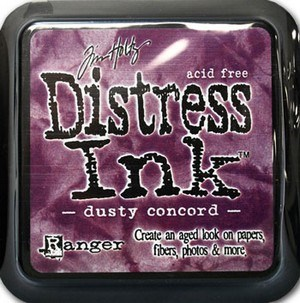 Dusty concord, Distress, mini pad, Tim Holtz.