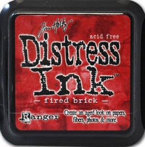 Fired brick, Distress, mini pad, Tim Holtz.
