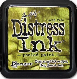 Peeled paint, Distress, mini pad, Tim Holtz.