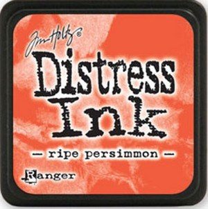 Ripe persimmon, Distress, mini pad, Tim Holtz.