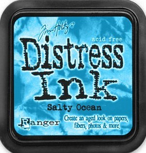 Salty ocean, Distress, mini pad, Tim Holtz.