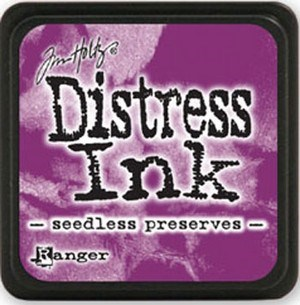 Seedless preserues, Distress, mini pad, Tim Holtz.