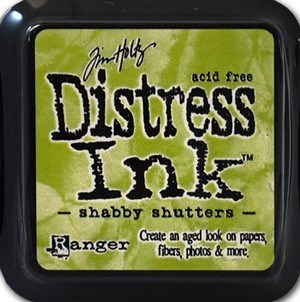 Shabby shutters, Distress, mini pad, Tim Holtz.