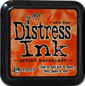 Spiced marmelade, Distress, mini pad, Tim Holtz.