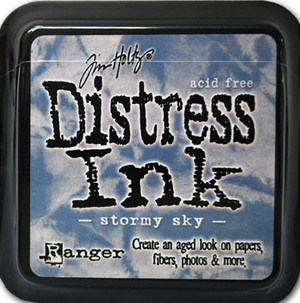 Stormy sky, Distress, mini pad, Tim Holtz.