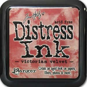 Victorian velvet, Distress, mini pad, Tim Holtz.
