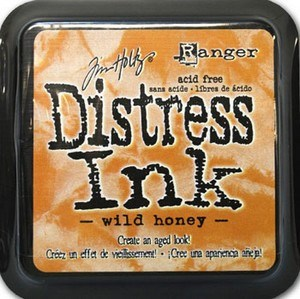 Wild honey, Distress, mini pad, Tim Holtz.