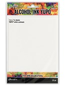 Yupo, synthetic papir, white cardstock