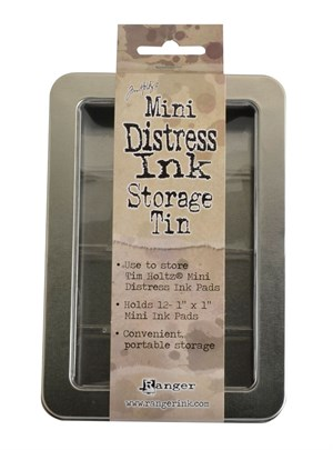 Storage tin, Distress mini ink pad, Tim Holtz.