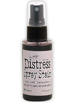 Milled lavender, Distress Spray Stain, Tim Holtz.