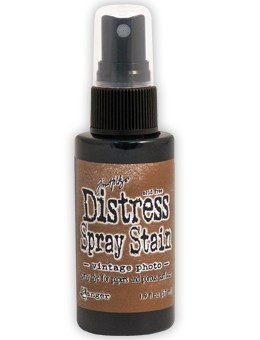 Vintage photo, Distress Spray Stain, Tim Holtz.