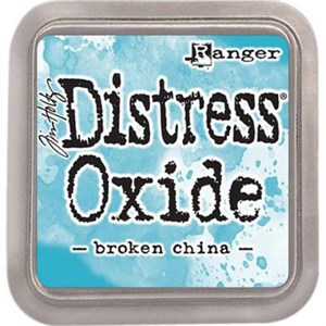 Broken china Distress oxide stempelfarve