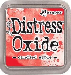 Candied apple Distress oxide stempelfarve