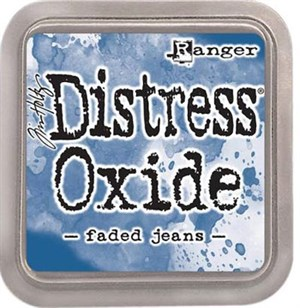 Faded jeans Distress oxide stempelfarve