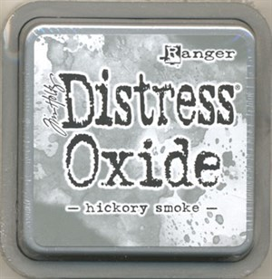 Hickory smoke Distress oxide stempelfarve