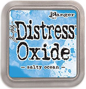 Salty ocean Distress oxide stempelfarve