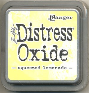 Squeezed lemonade Distress oxide stempelfarve