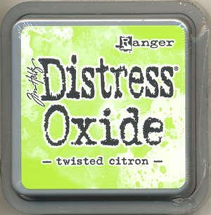 Twisted citron Distress oxide stempelfarve