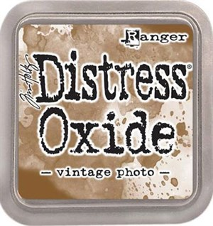 Vintage photo Distress oxide stempelfarve