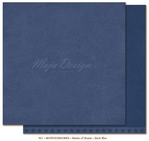 Shades of Demin monochromes fra maja design,dark blue