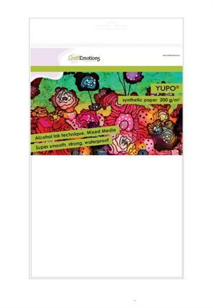 Yupo, synthetic papir,craft card, 200 gr.