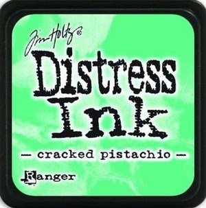 Cracked pistachio, Distress, mini pad, Tim Holtz.