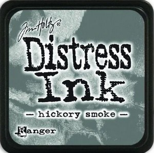 Hickory smoke, Distress, mini pad, Tim Holtz.