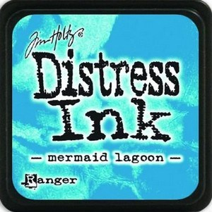 Mermaid lagoon, Distress, mini pad, Tim Holtz.