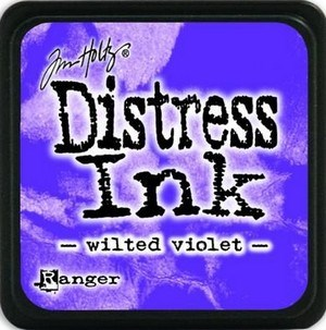 Wilted violet, Distress, mini pad, Tim Holtz.