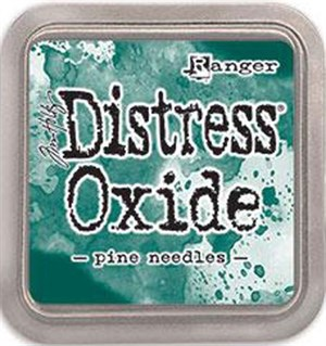Pine needles, Distress, mini  pad, Tim Holtz.