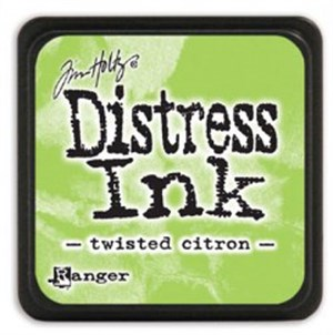 Twisted citron, Distress, mini pad, Tim Holtz.